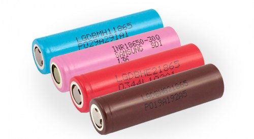 Rechargeable Li-on batteries